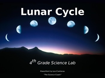 Lunar Phases LESSON, 4th Grade