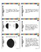 Lunar Phases Task Cards - With or Without QR codes
