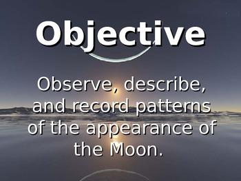 Lunar Phases Teacher Demonstration for 2nd Grade