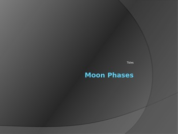 Lunar Phases and Tides