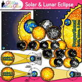 Solar Eclipse 2017 Clip Art {Astronomy Graphics for Scienc