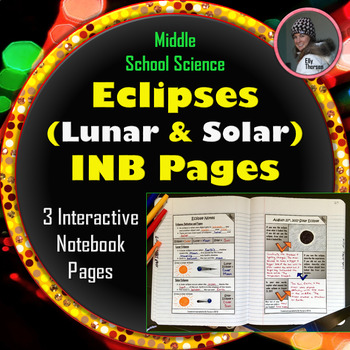 Lunar and Solar Eclipses Interactive Notebook Pages