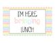 Lunch/ Attendance Clip Chart