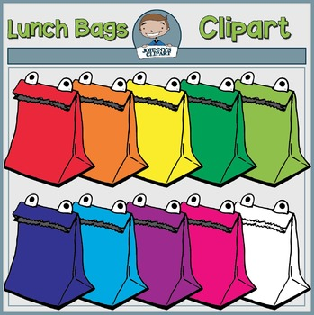 {Freebie} Lunch Bag Clipart