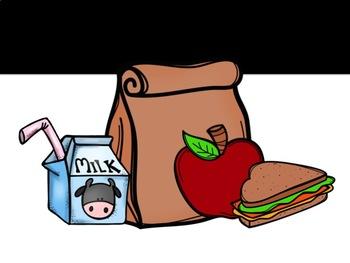 Lunch Bin Sign {Editable}