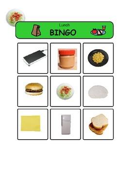 Lunch Bingo