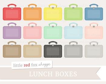Lunch Box Clipart; Lunchbox, School