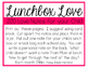 Lunch Box Love Notes Bundle for the Year