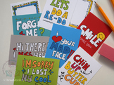 Lunch Box Notes | Apology Quotes | Printable Mini Cards |