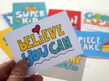 Lunch Box Notes | Encouragement Quotes | Printable Mini Cards | Back to School