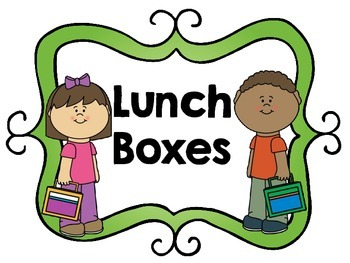 Lunch Box and Library Book Bin Labels