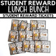 Lunch Buds and Lunch Bunch Student Pass