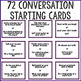 Conversation Starter Cards for Small Group Counseling or Lunch Bunch