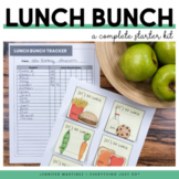 Lunch Bunch Invitations | Editable Lunch Invitations | Character Ed