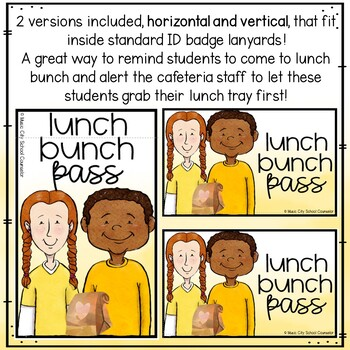 Lunch Bunch Passes FREEBIE!