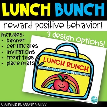 Lunch Bunch: Promote Good Behavior