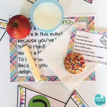 Lunch Bunch: Promote Good Behavior