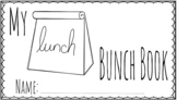 No Prep Lunch Bunch Printable Booklet with Lesson Plan (Le