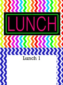 Lunch Chart and Attendance