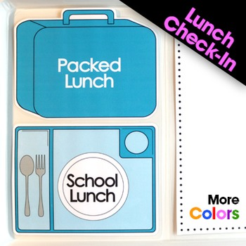 Lunch Check-In and Lunch Cards
