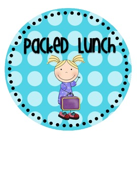 Lunch Choice {& Attendance!} Clip Chart