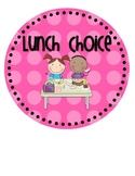 Lunch Choice {& Attendance!} Clip Chart