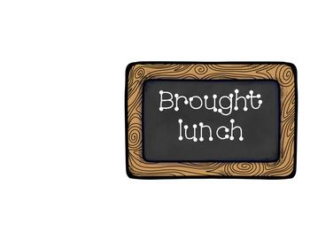Lunch Choice Clip Chart