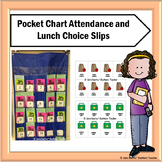 Lunch Choice and Attendance for Pocket Charts