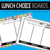 Lunch Choice DIGITAL Boards