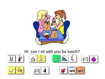 Lunch Conversation Scripted Conversation