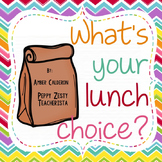 Lunch Count [EDITABLE]