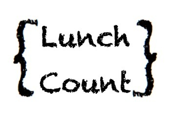 Lunch Count Chart