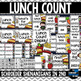 Lunch Count Choice Labels Chevron