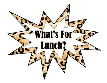 Lunch Count - Leopard