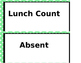 Lunch Count Sheets