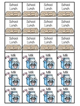 What's for Lunch?---Check in System for lunch and attendance