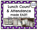 Lunch Count and Attendance