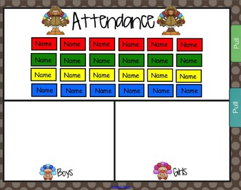 3 Choice Lunch Count & Attendance  BUNDLE for ENTIRE YEAR