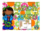 Lunch Count and Math in Neon Colors