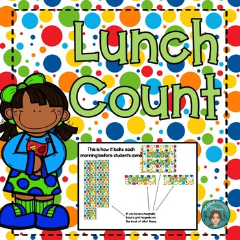 Lunch Count and Math in Primary Colors