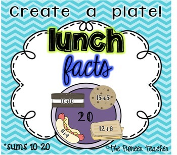 Lunch Facts (Sums 10-20)