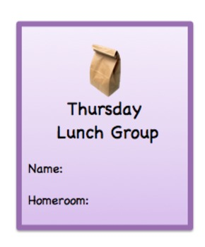 Lunch Group Invitations