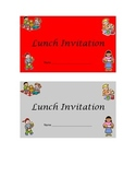 Lunch Invitations