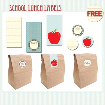 Lunch Labels Printables