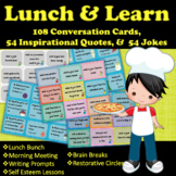 Conversation Cards, SEL, Inspirational Quotes, Writing Prompts & Jokes