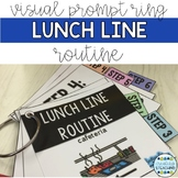 Lunch Line Visual Prompt Ring {Editable}