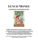 Lunch Money Complete Activity Packet