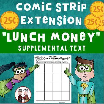 Lunch Money FREE Comic Strip Activity Journeys Supplementa