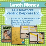 Lunch Money:  Higher Order Thinking Questions