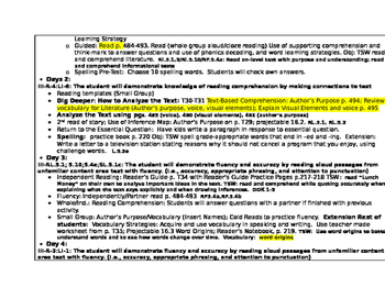 Lunch Money Lesson Plans 5th Grade